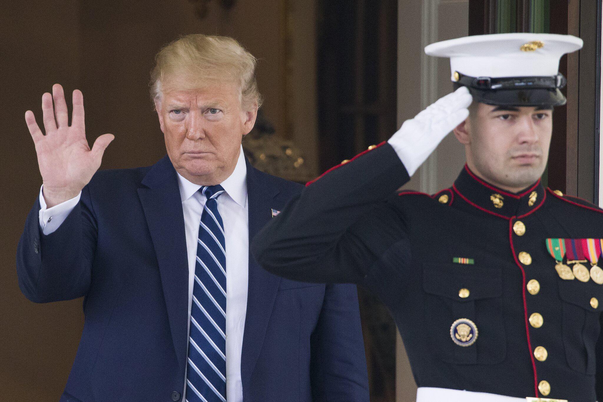 Bild zu Bericht:Trump soll Luftangriffe auf den Iran freigegeben haben