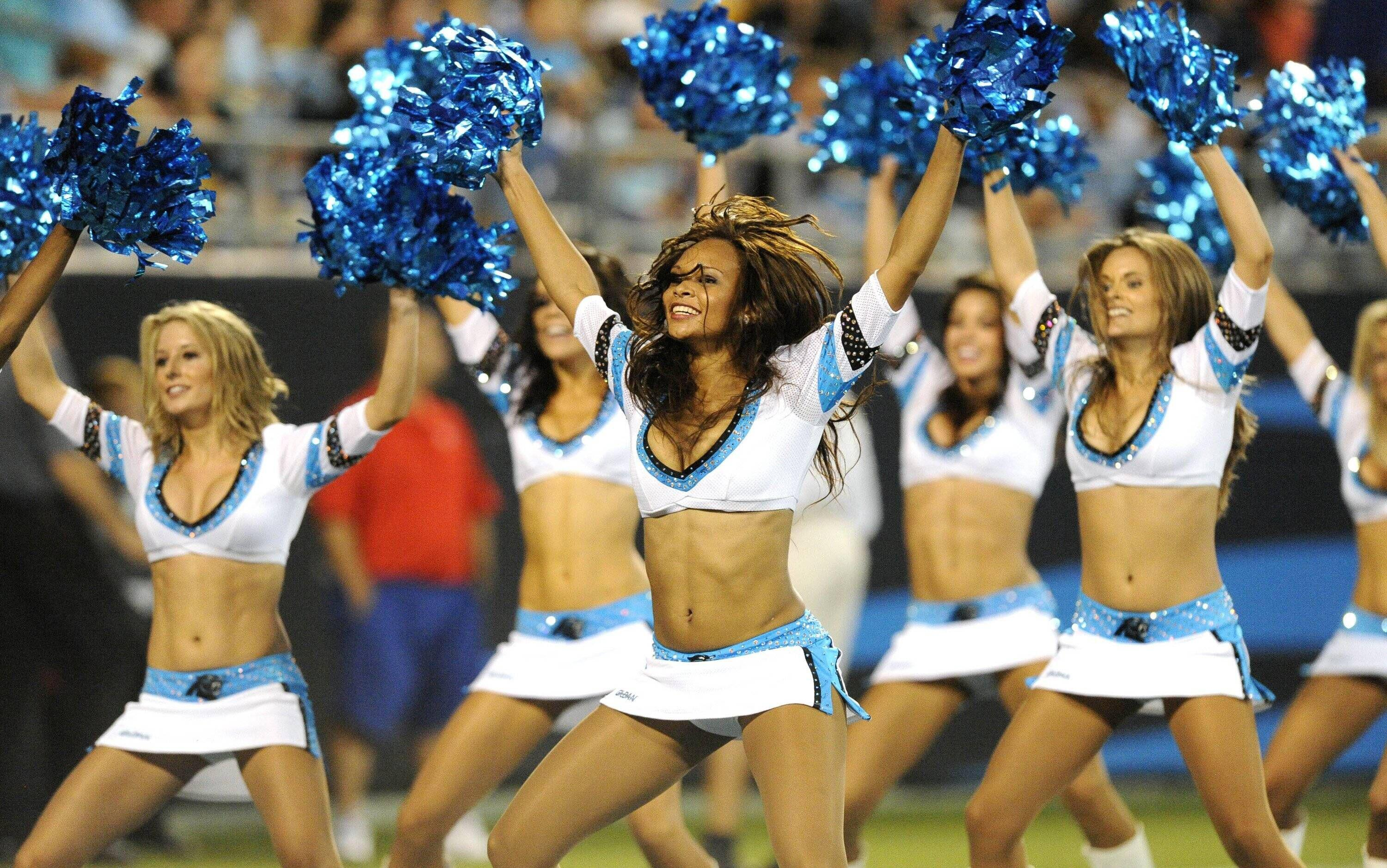 Bild zu Carolina Panthers, Cheerleader, NFL