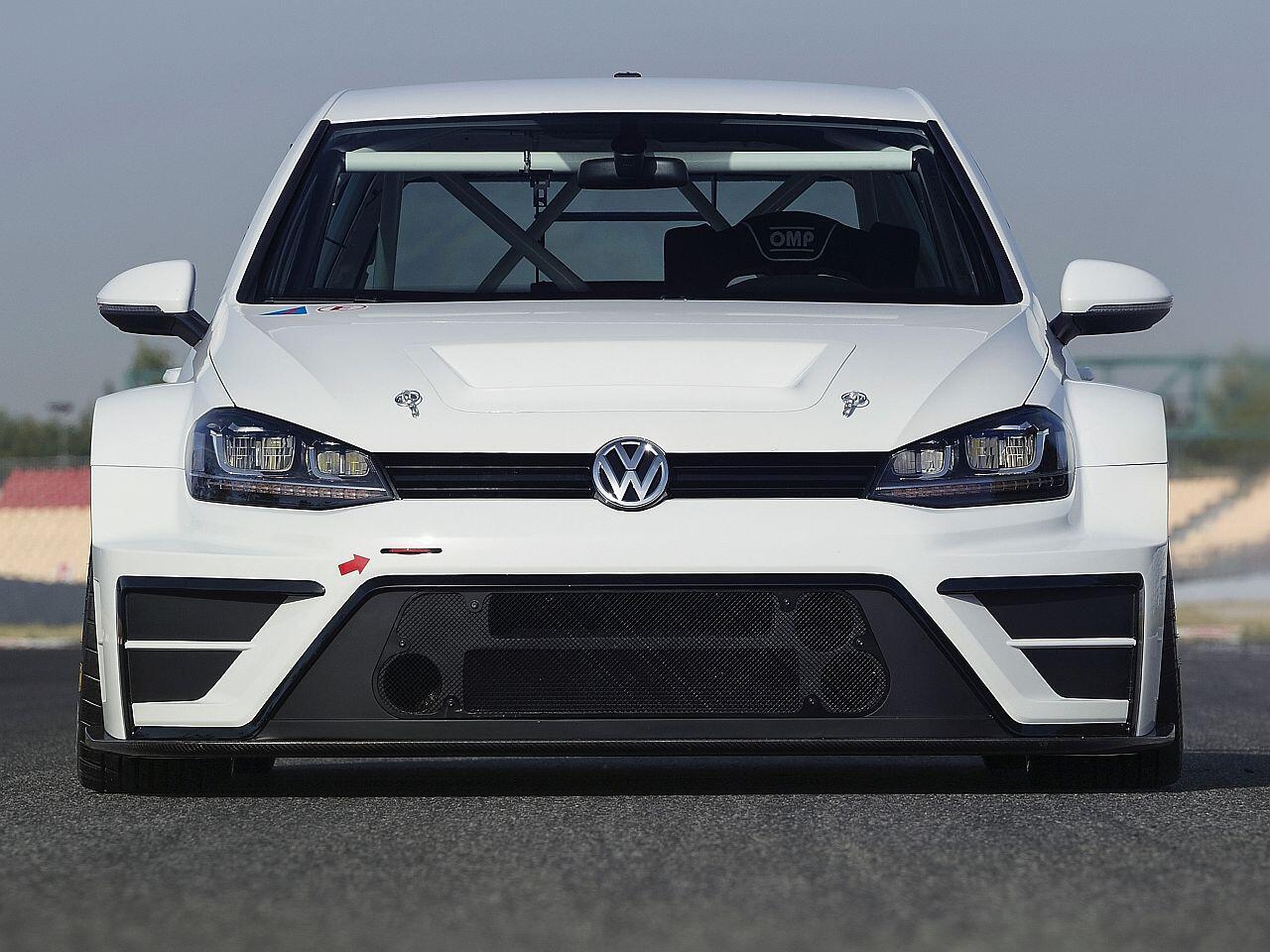 Bild zu VW Golf TCR Concept