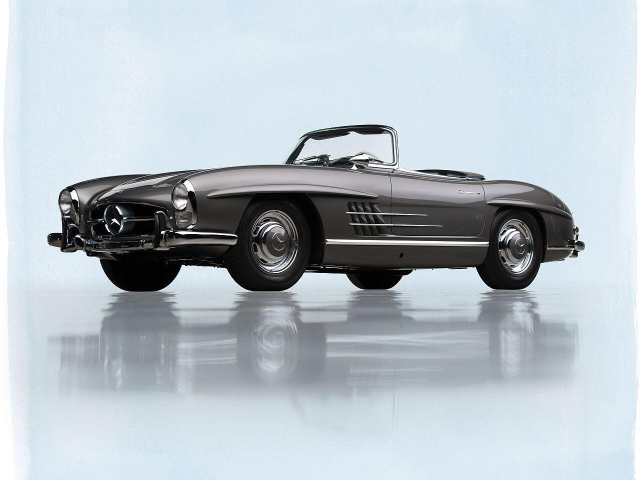 Bild zu Mercedes-Benz 300 SL Roadster von 1959