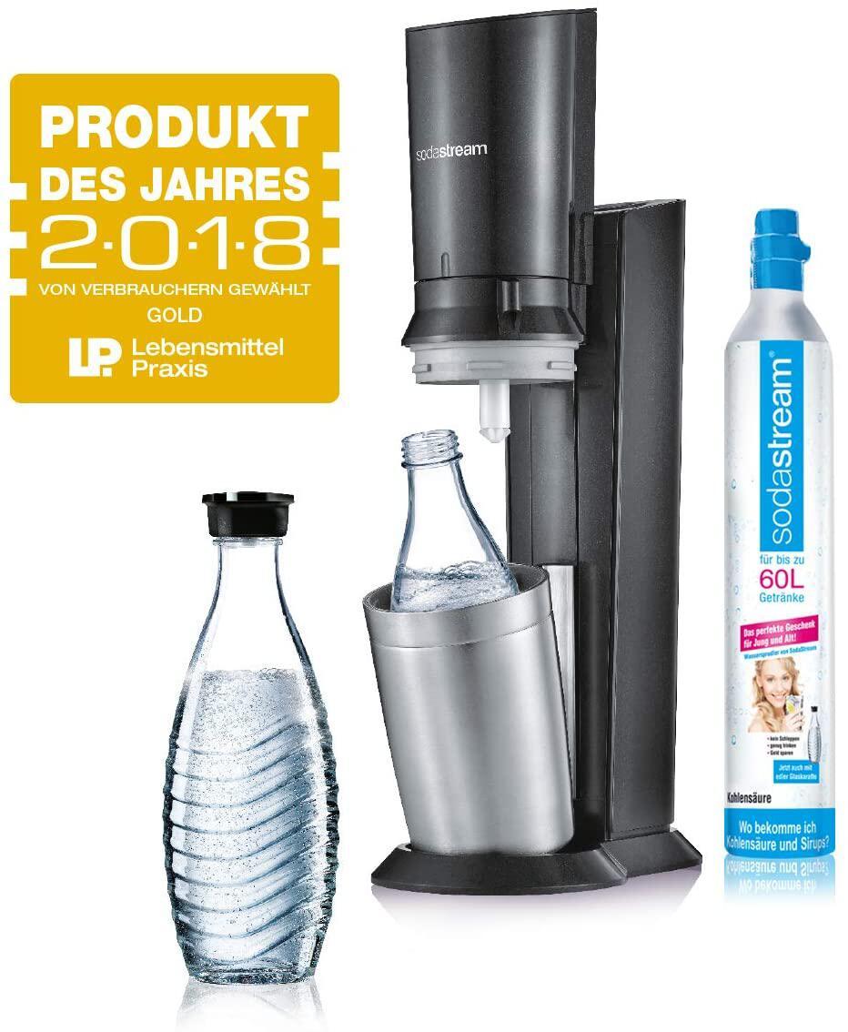 Bild zu wassersprudler, sodastream, trinkwasser, sprudelwasser, kohlensäure, kitchenaid, günstig, test