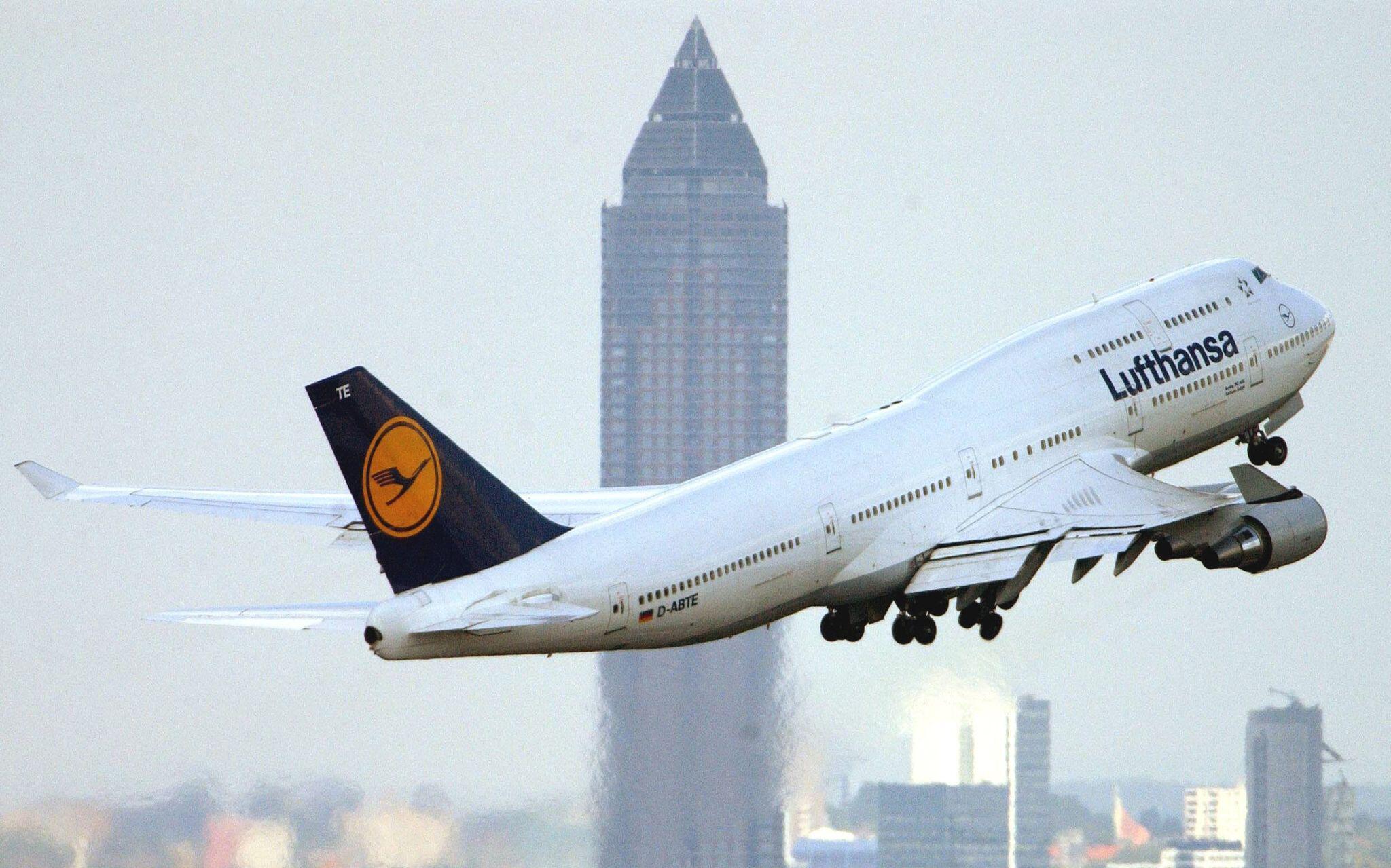 Bild zu Boeing 747 der Lufthansa