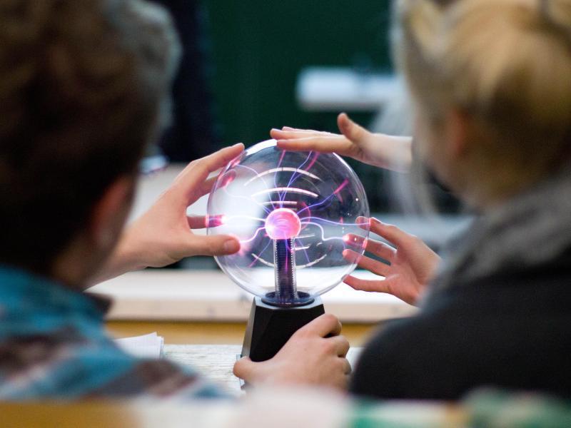 Bild zu Physik-Studenten