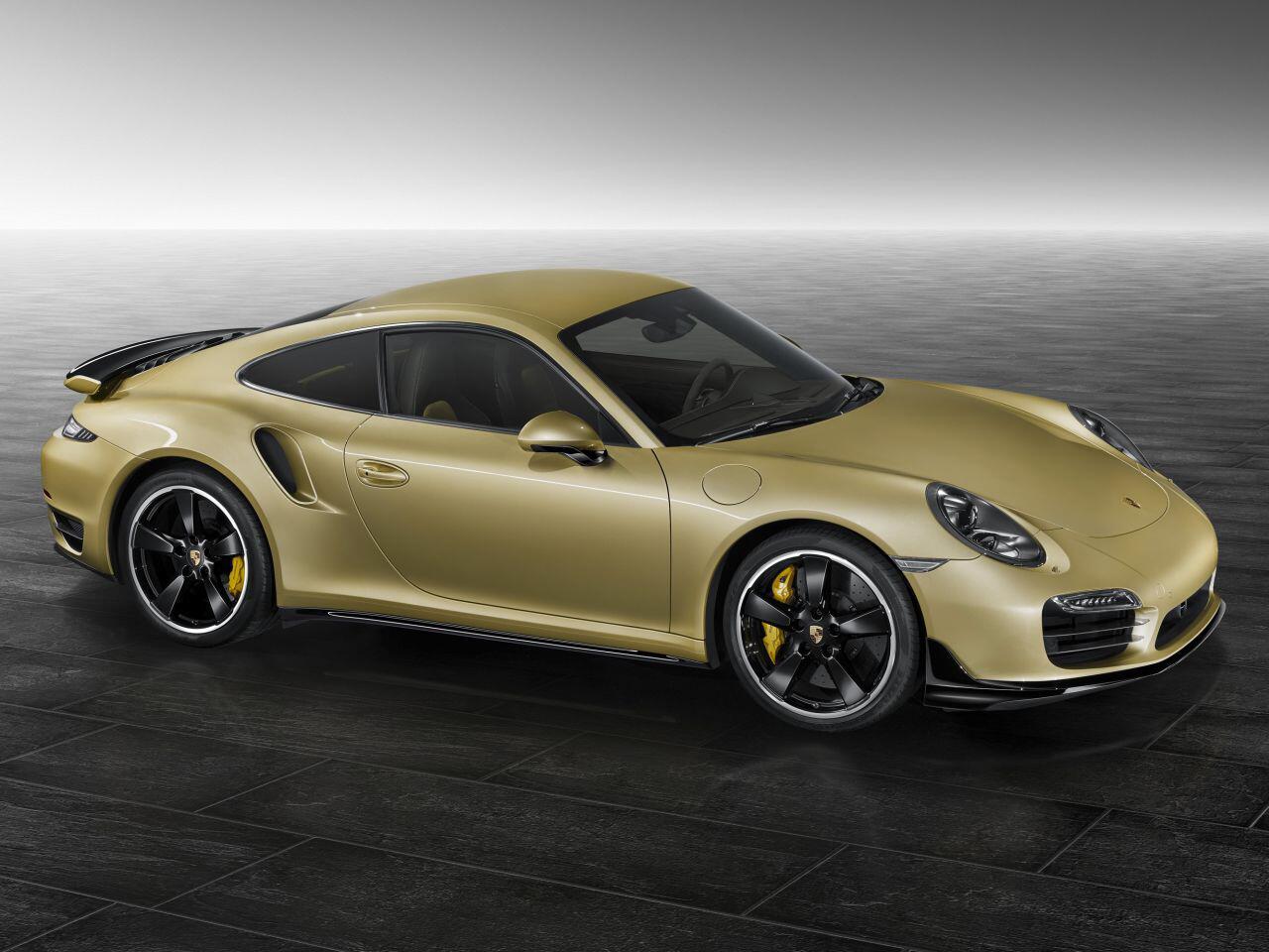 Bild zu Porsche 911 Turbo mit Aerokit