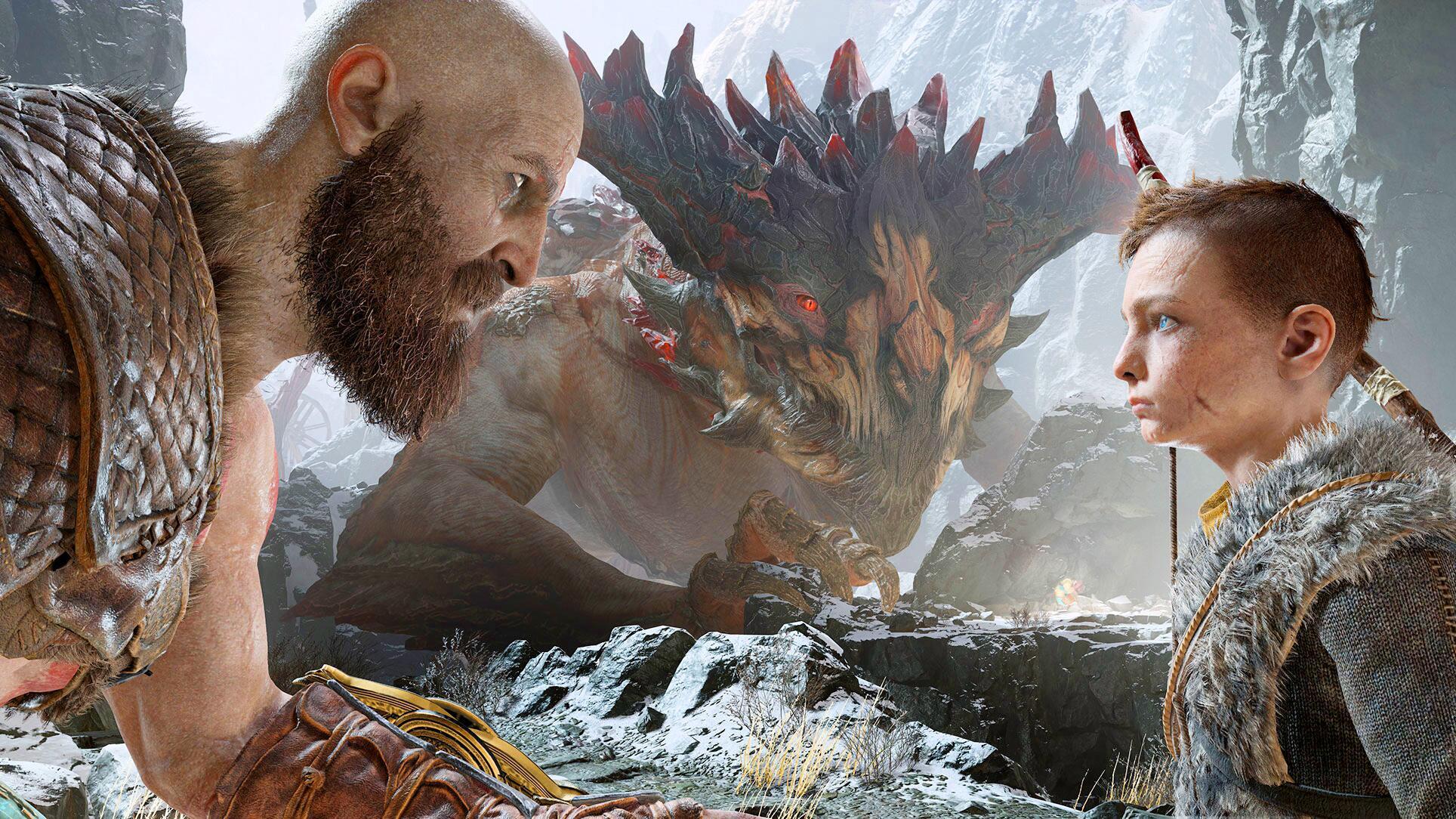 Bild zu Sony, PlayStation5, PS5, Konsole, Next-Gen, God of War