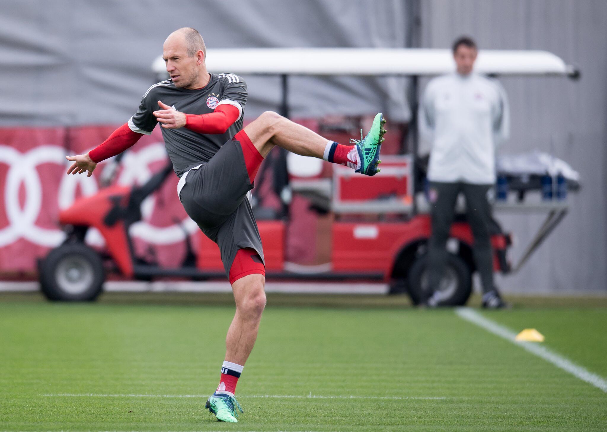 Bild zu Final training session FC Bayern Munich