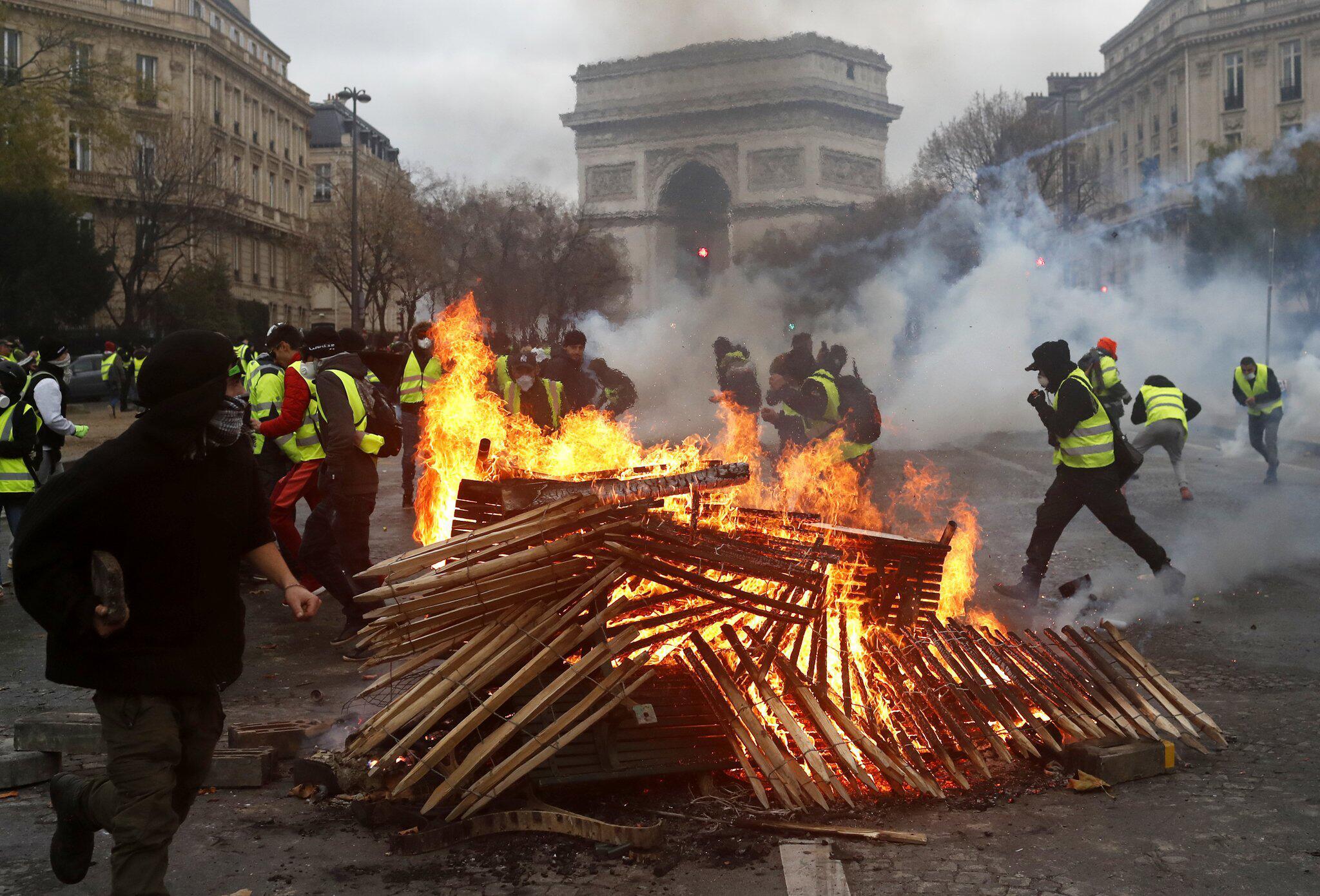 Bild zu Demonstration in Frankreich