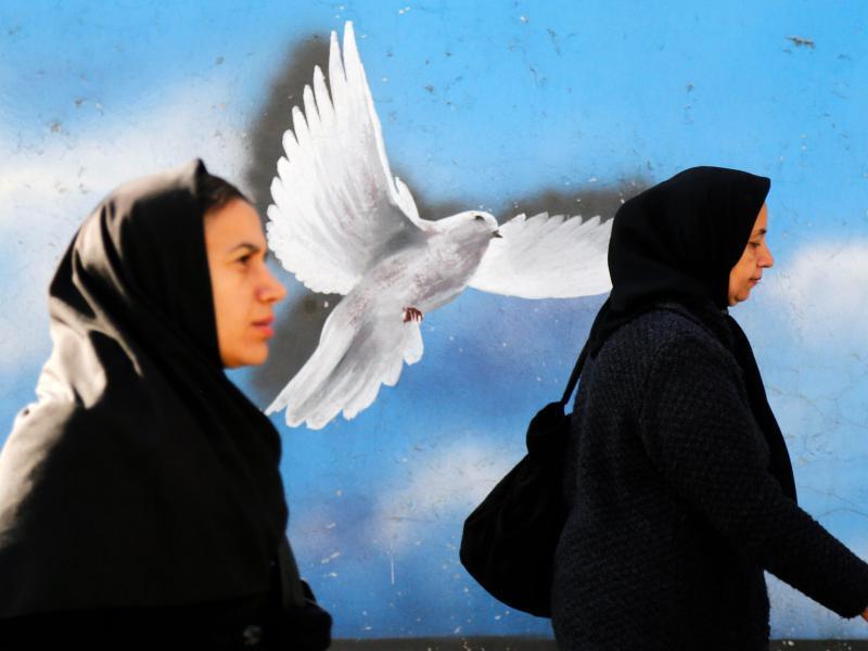 Bild zu Iranische Frauen in Teheran