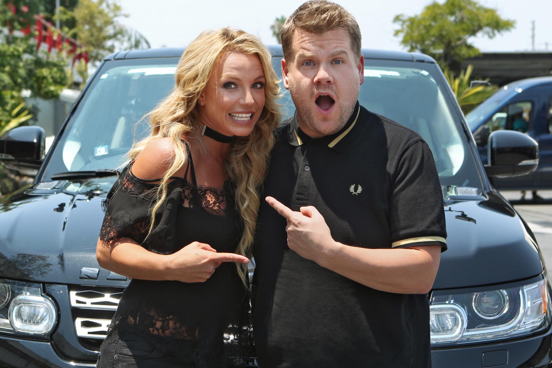 Bild zu Britney Spears, James Corden, Carpool Karaoke, Playback