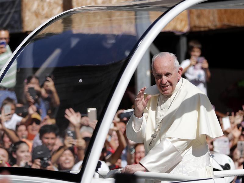 Bild zu Papstbesuch in Chile