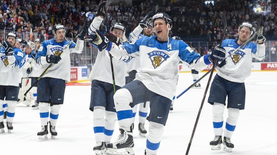 Eishockey WM: Russland - Finnland