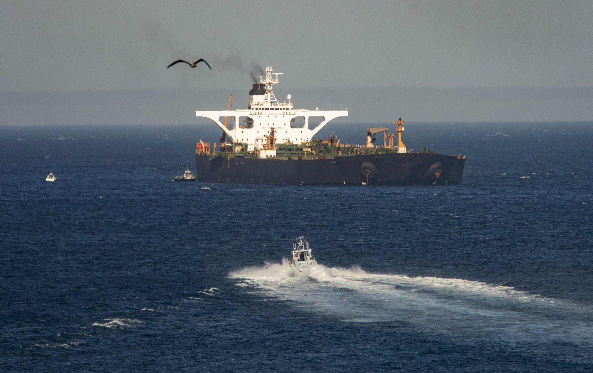 Bild zu Supertanker mit iranischem Öl verlässt Gibraltar