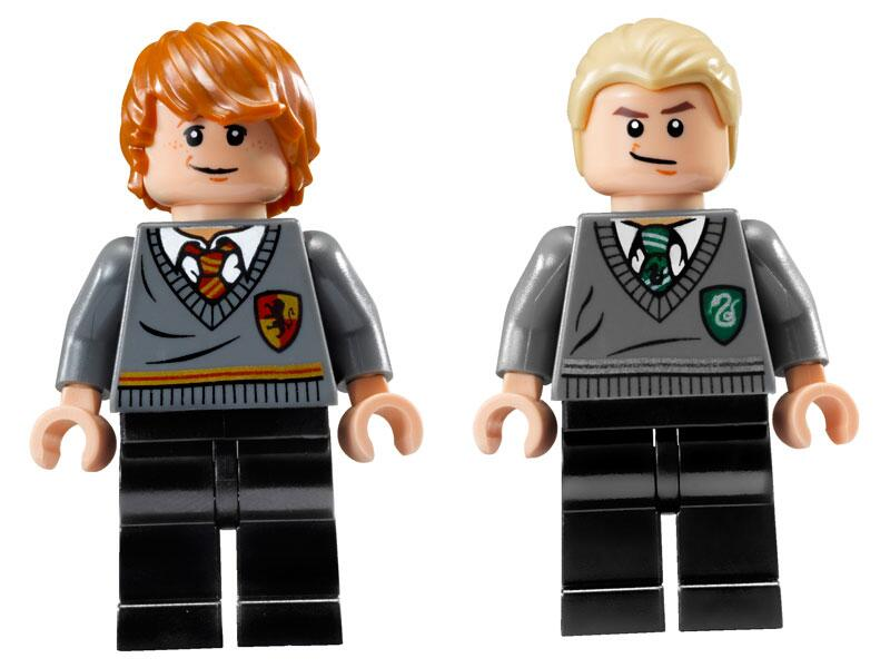 Bild zu Ron Weasley und Draco Malfoy