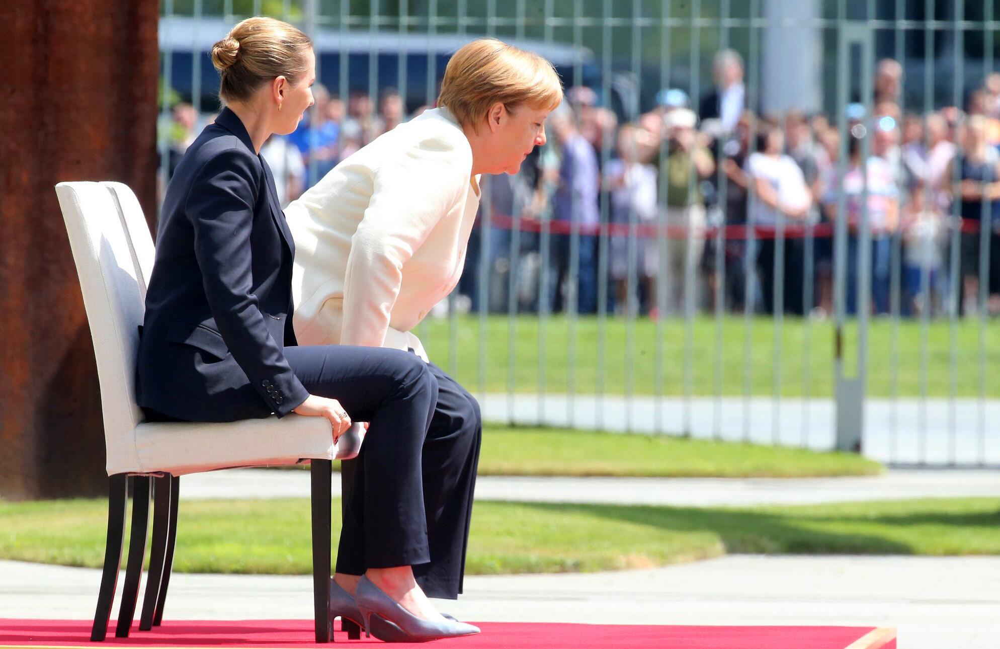 Bild zu Kanzlerin Merkel trifft dänische Ministerpräsidentin