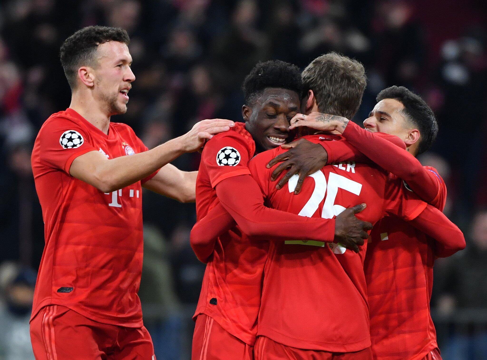 Bild zu UEFA Champions League - FC Bayern Munich vs Tottenham Hotspur