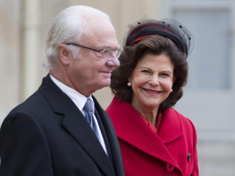Bild zu Schwedisches Königspaar