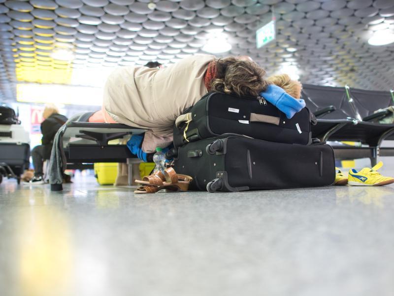 Bild zu Fluggäste müssen warten