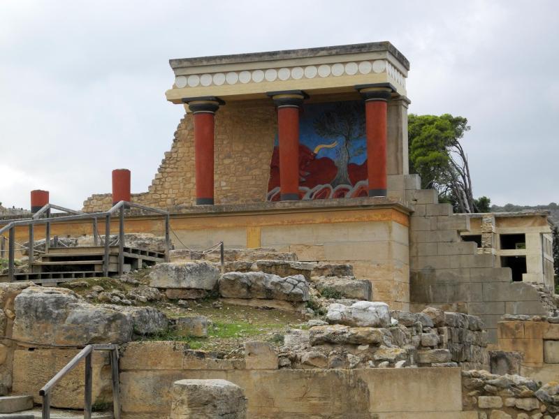 Bild zu Palast von Knossos
