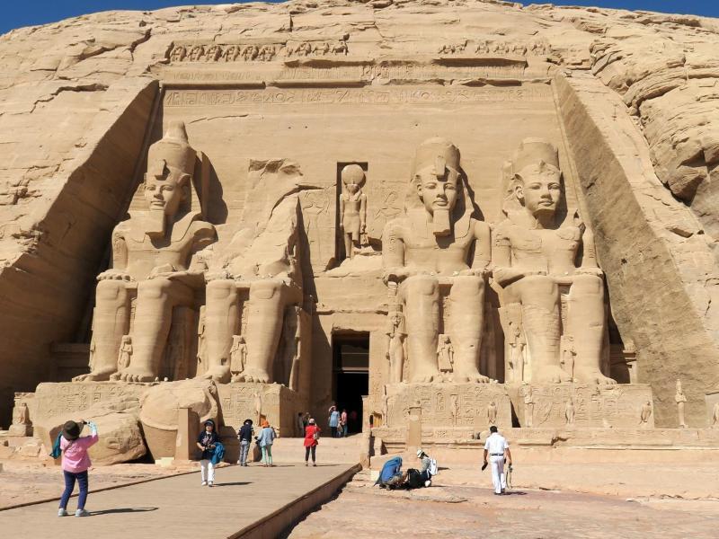 Bild zu Abu Simbel