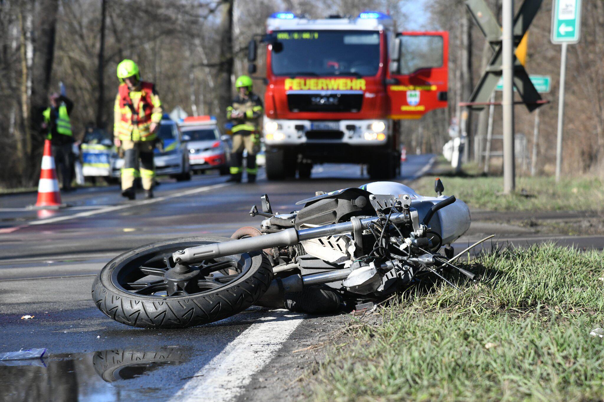 Bild zu Viele Motorradfahrer verunglücken bei Ausflügen