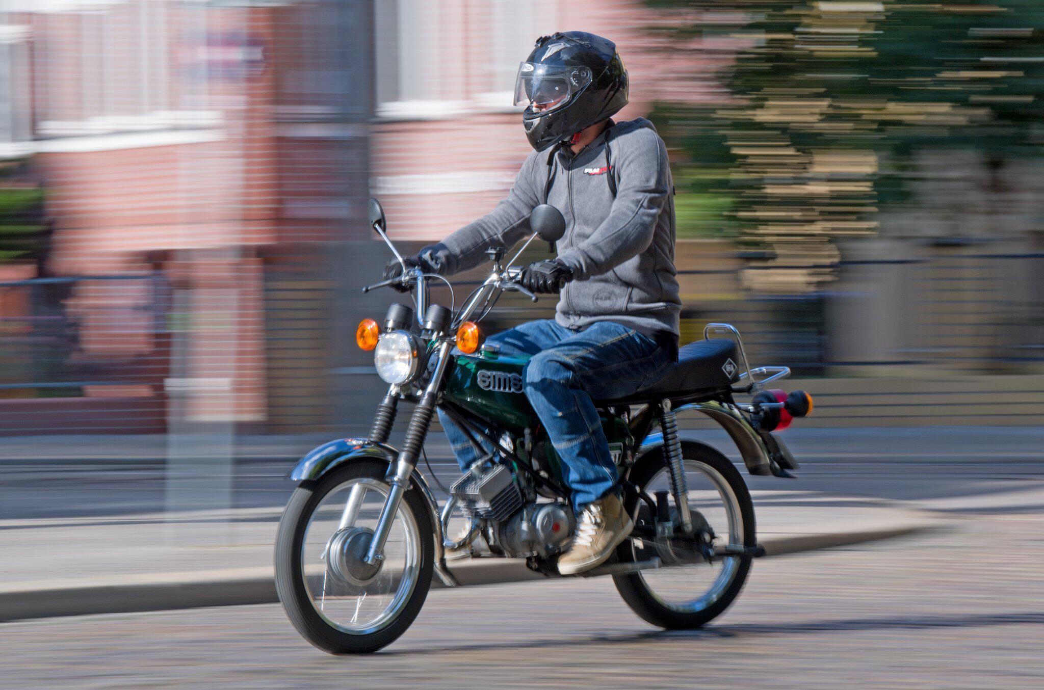 Bild zu Moped