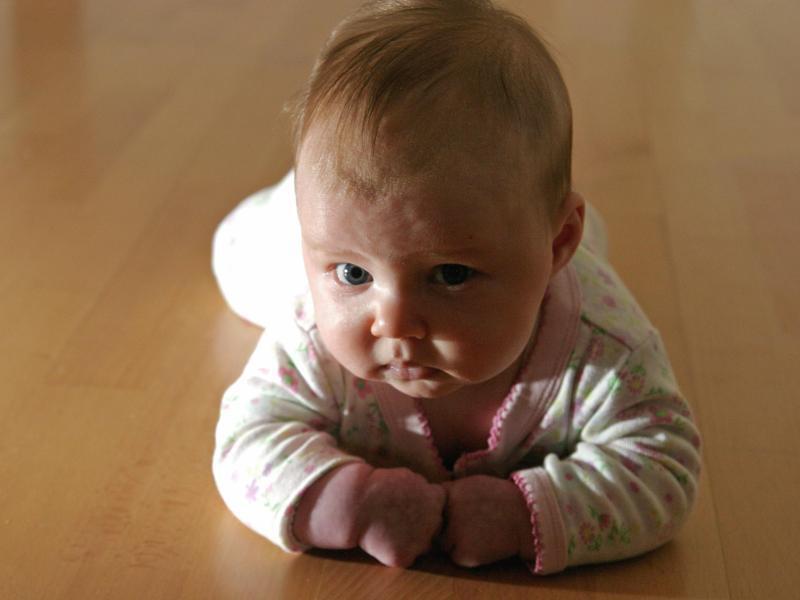 Bild zu Hautpflege bei Babys