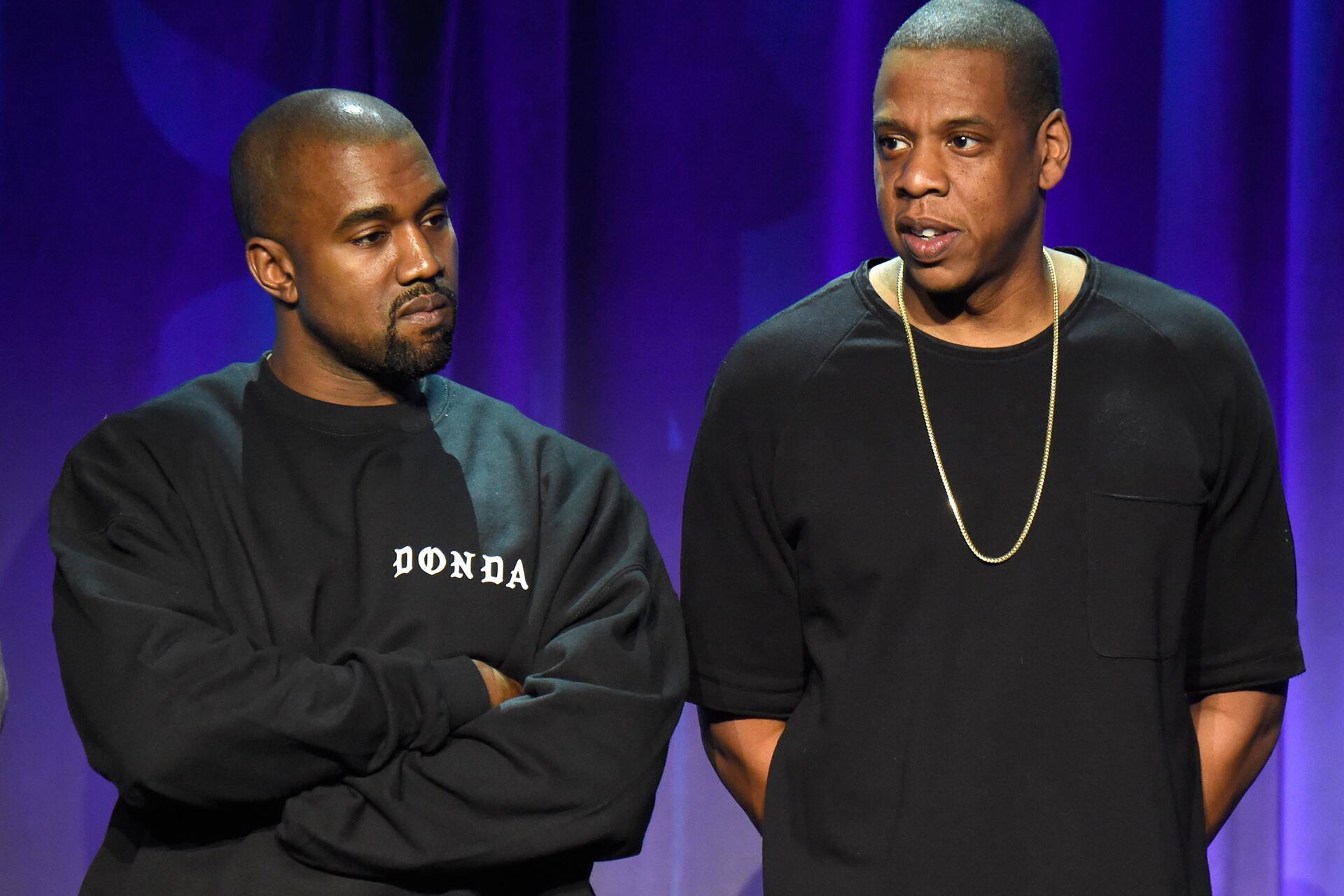 Bild zu Kanye West, Jay Z