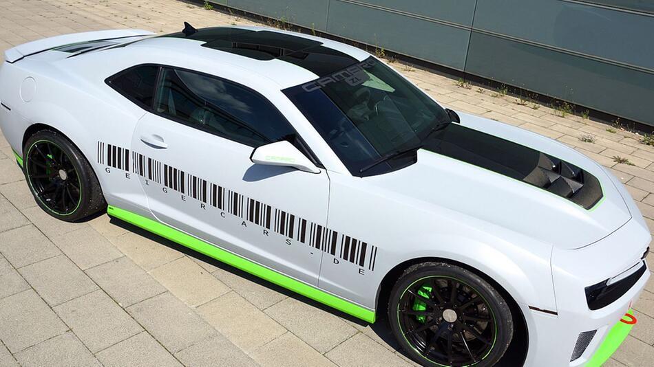 Getuntes Muscle-Car: Chevrolet Camaro von Geiger