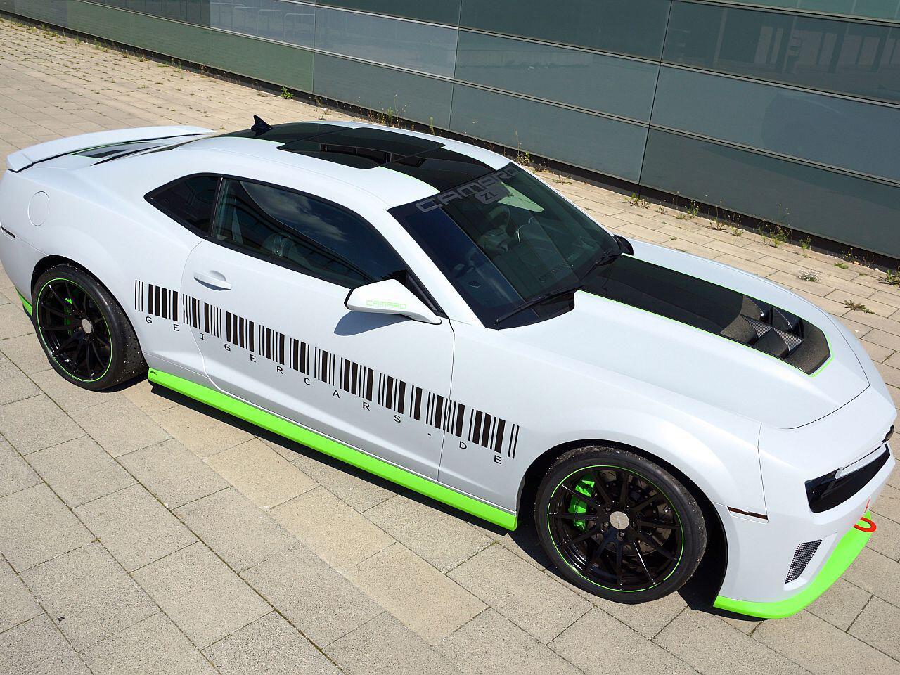 Bild zu Getuntes Muscle-Car: Chevrolet Camaro von Geiger