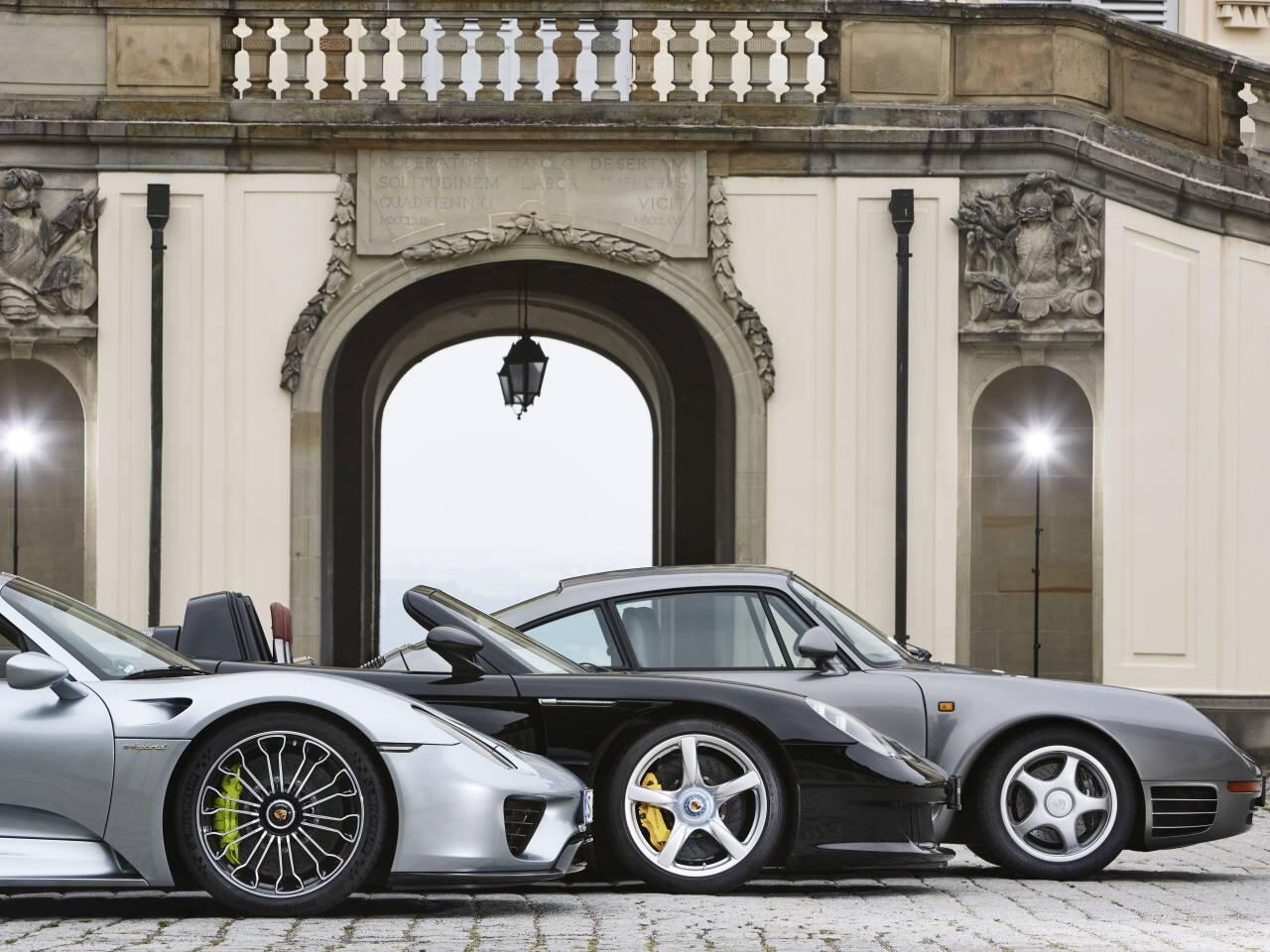 Bild zu Porsche 918 und Carrera GT
