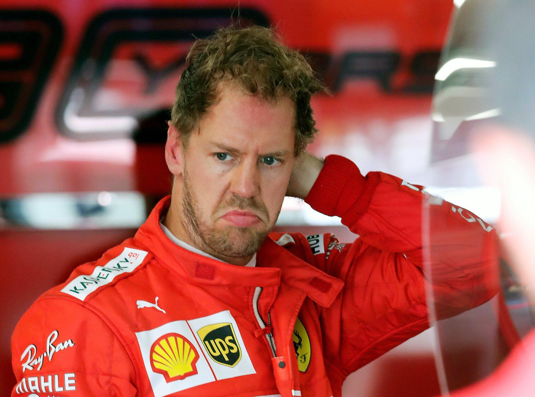 Bild zu Vettel muss Formel-1-Rennsperre fürchten