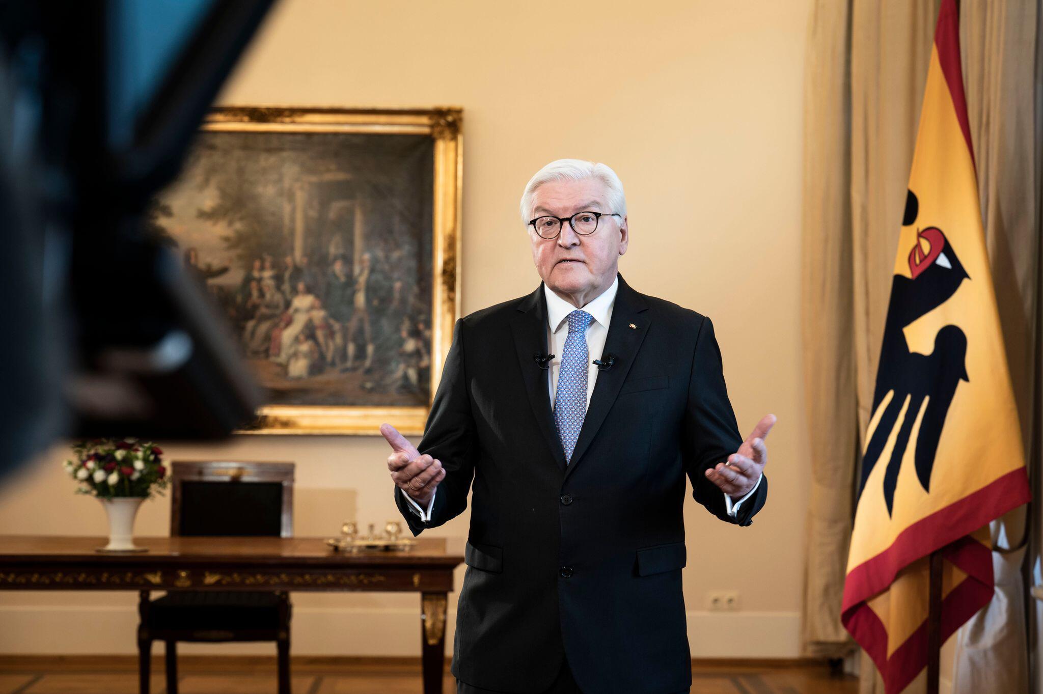 Bild zu Fernsehansprache Bundespräsident Steinmeier