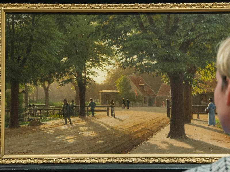 Bild zu Dänische Gemälde und Zeichnungen im Museum