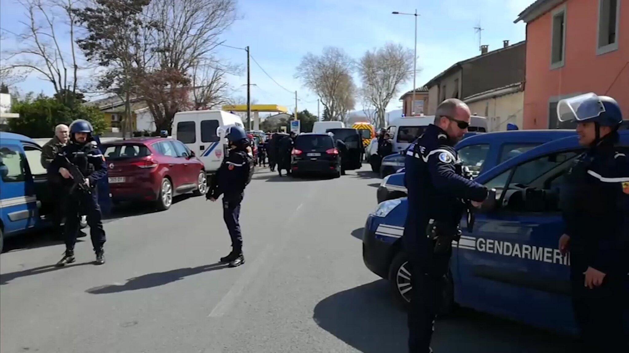 Bild zu Geiselnahme bei Carcassonne