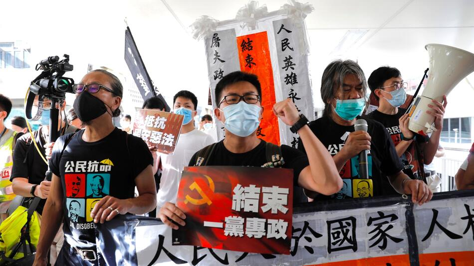 Jahrestag der Rückgabe Hongkongs