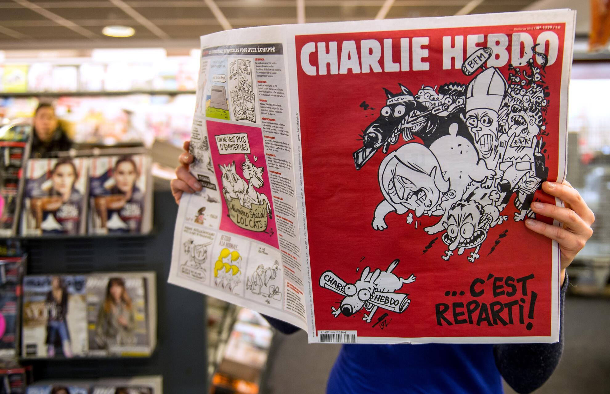 Bild zu Charlie Hebdo