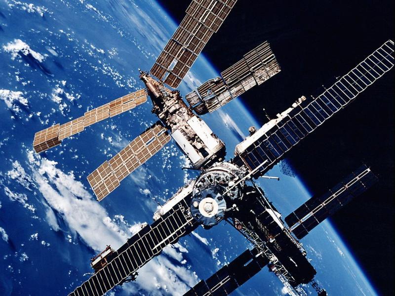 Bild zu Raumstation «Mir»