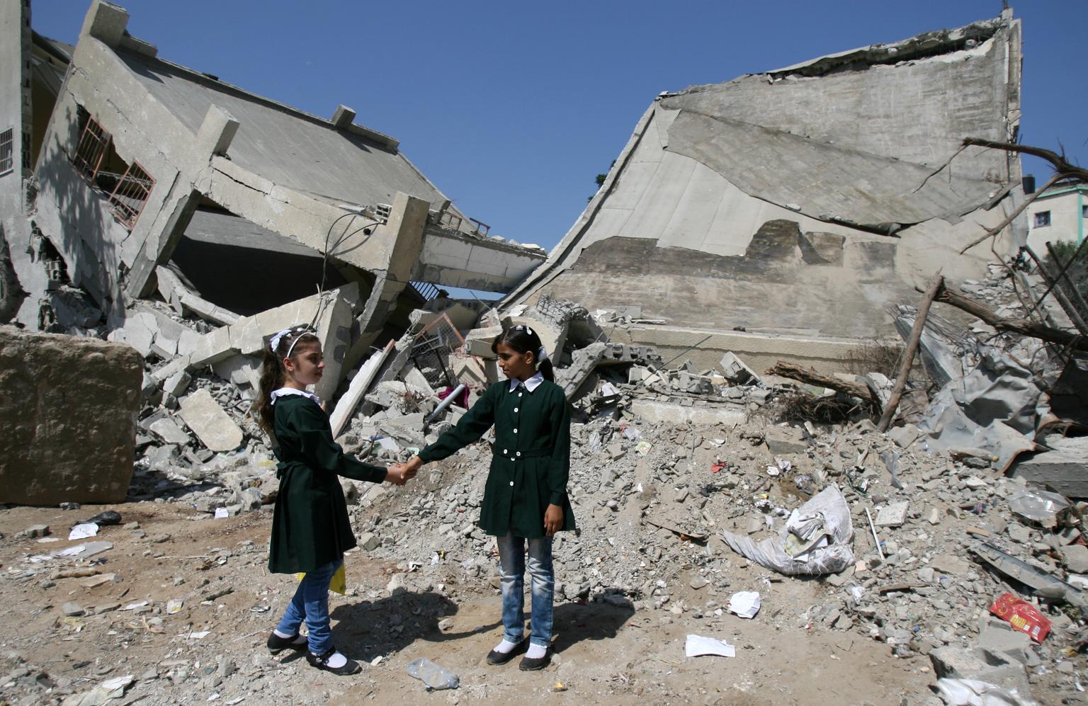 Bild zu UNICEF, Schutz von Schulen und Krankenhäusern