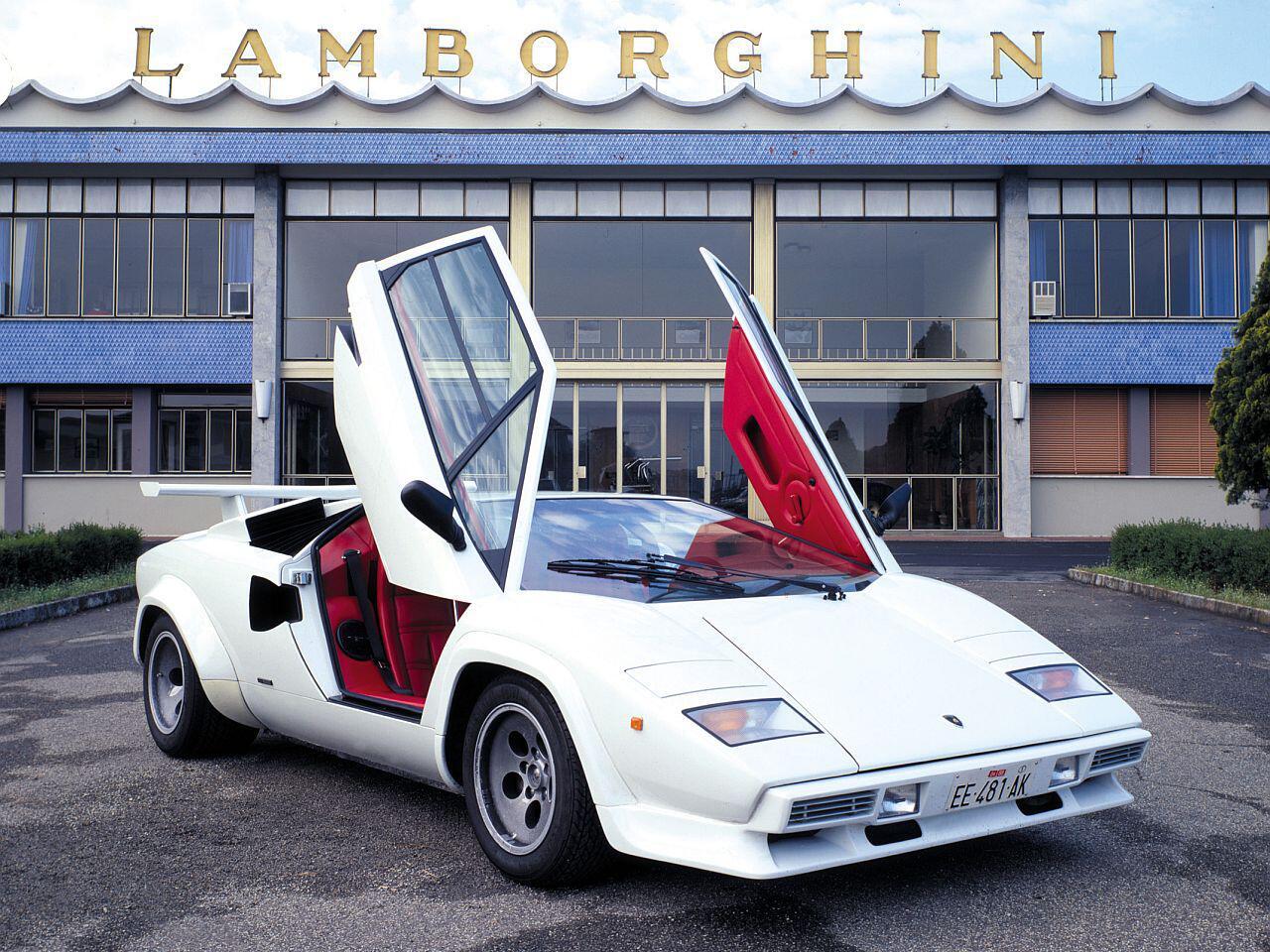 Bild zu Lamborghini Countach s quattrovalvole