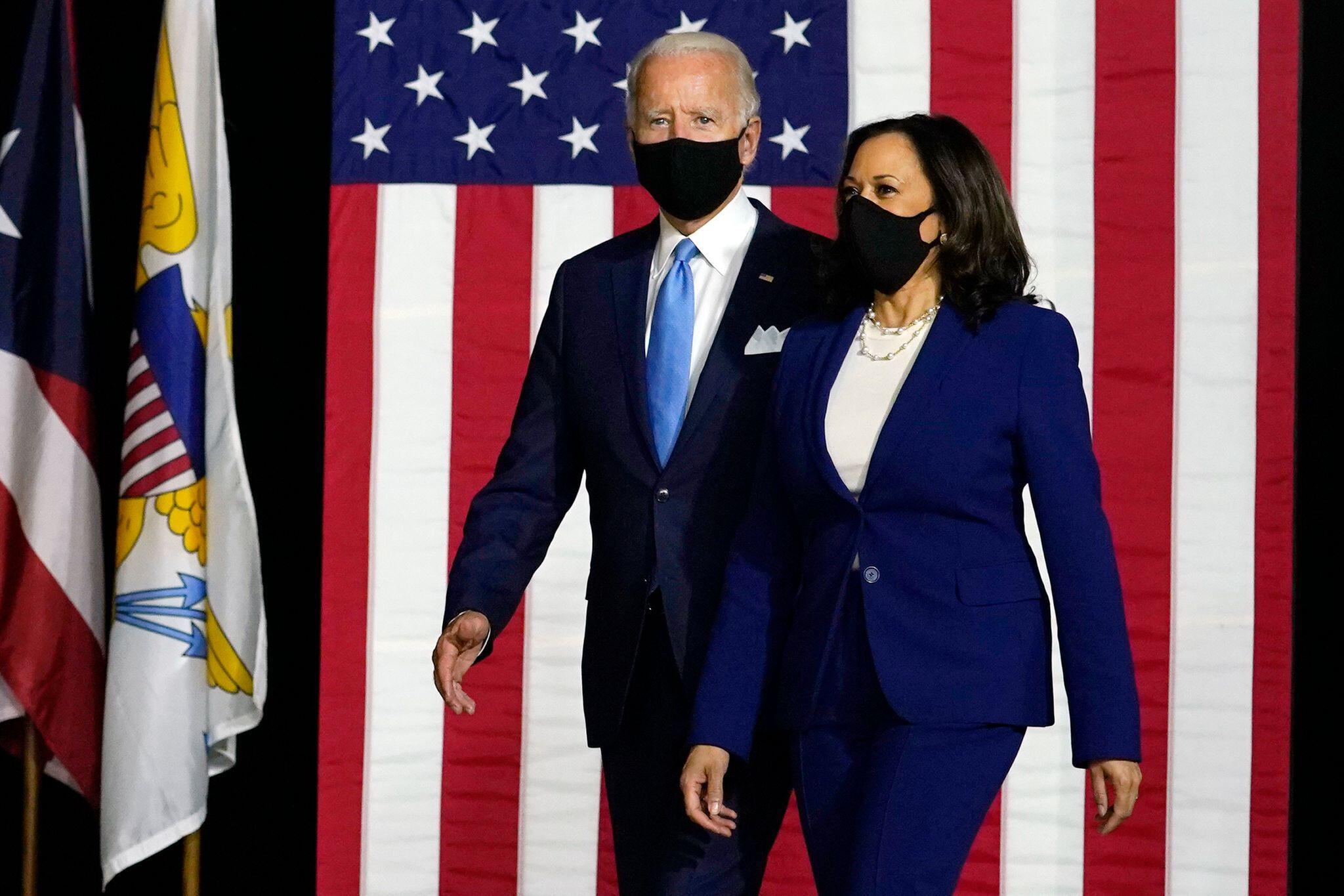 Bild zu Biden zieht mit Harris als Vize-Kandidatin in Wahl