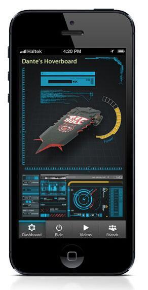 Bild zu Hoverboard App