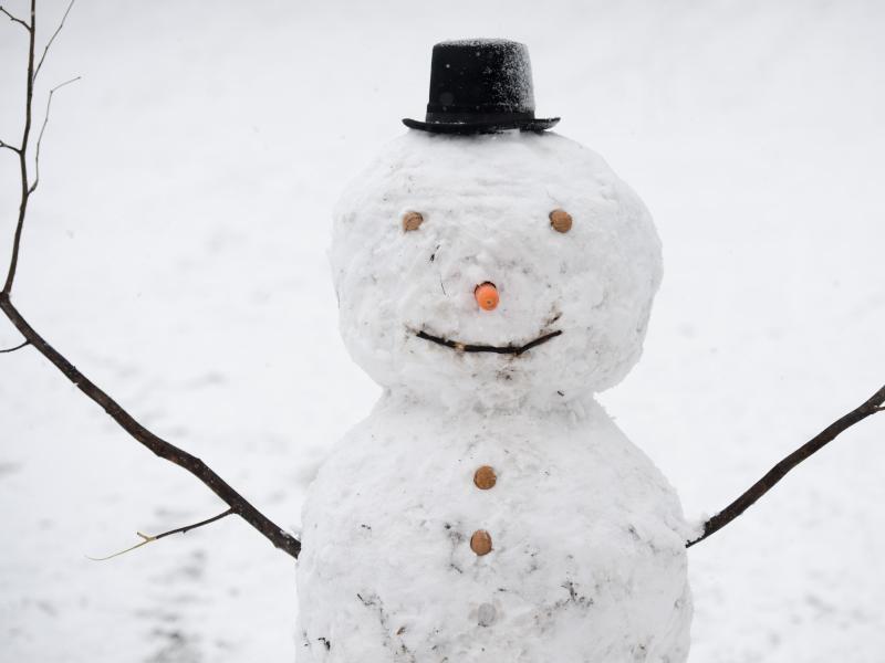 Bild zu Schneemann