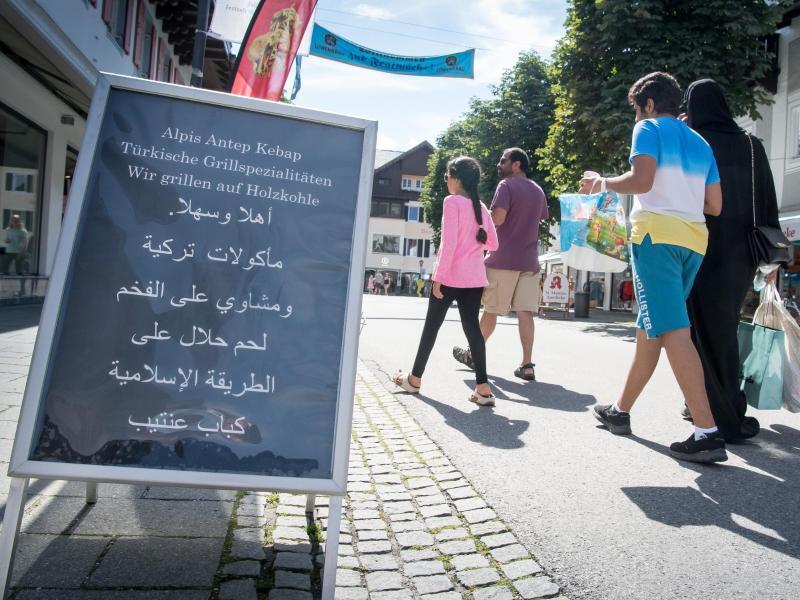 Bild zu Arabische Sommergäste in Garmisch-Partenkirchen