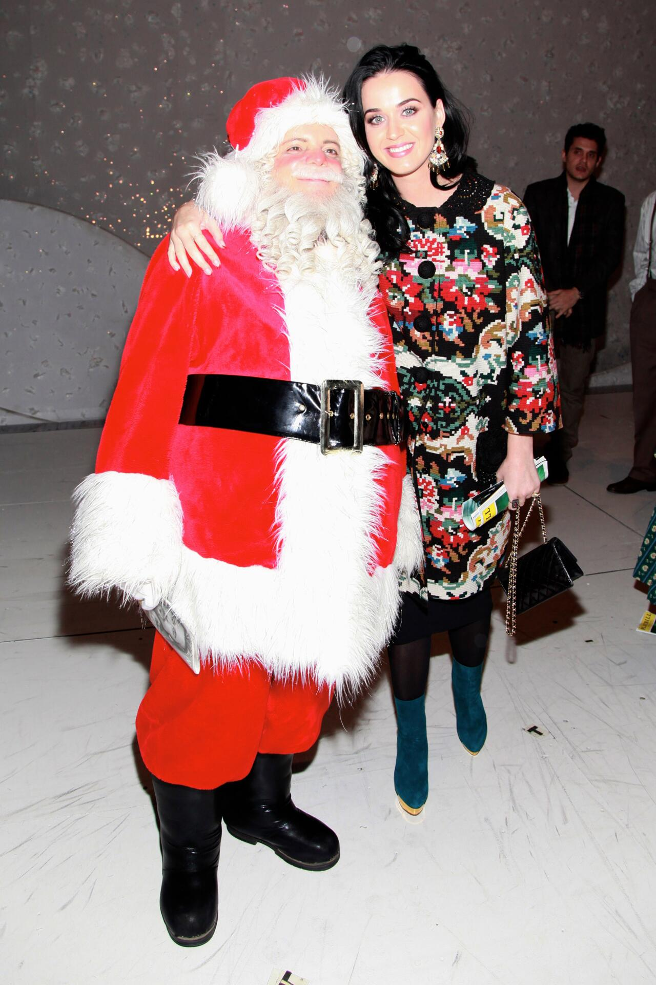 Bild zu Katy Perry, Weihnachten, Ugly Sweater