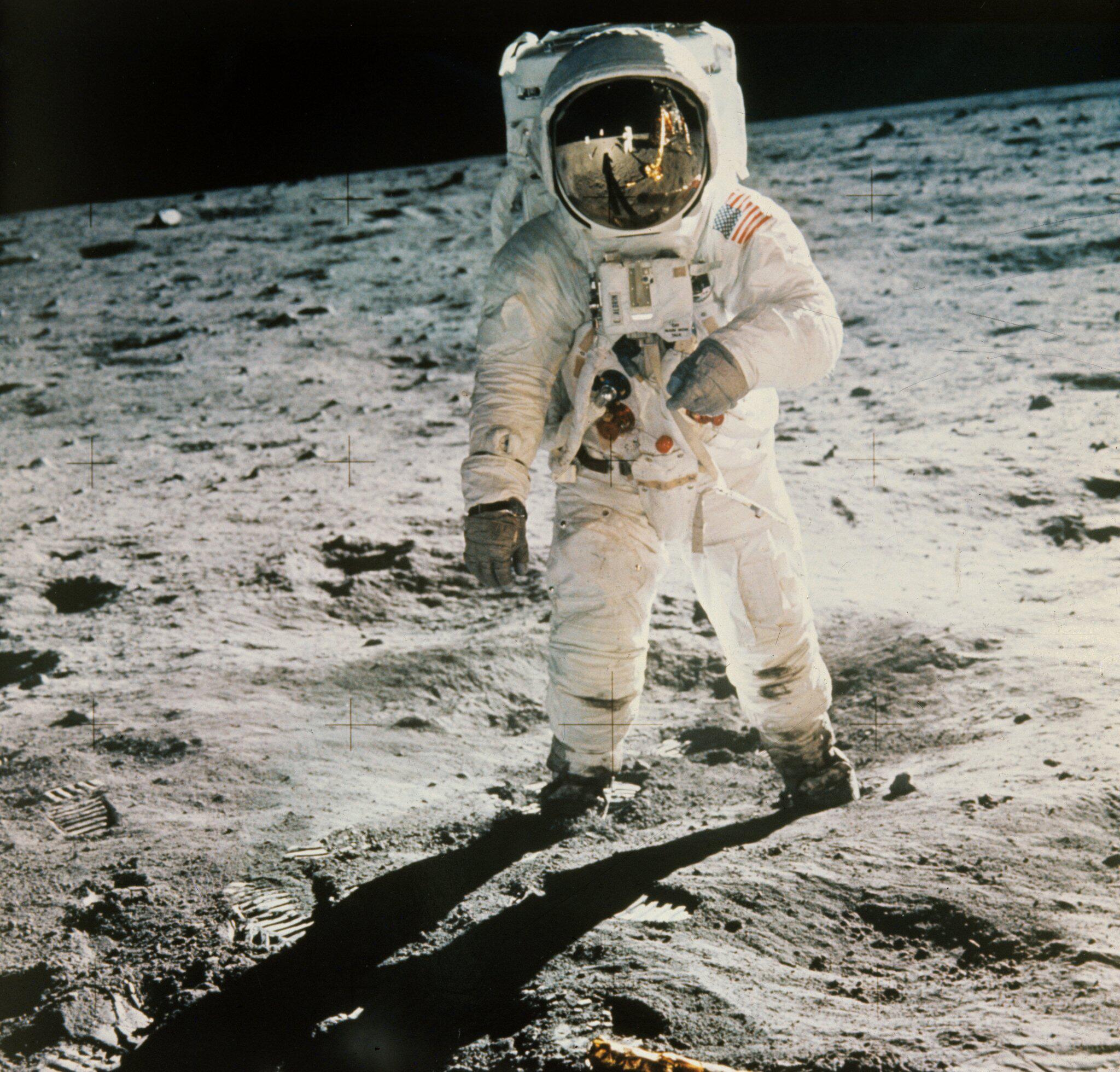Bild zu Nasa wird 60 - Mondlandung von «Apollo 11»