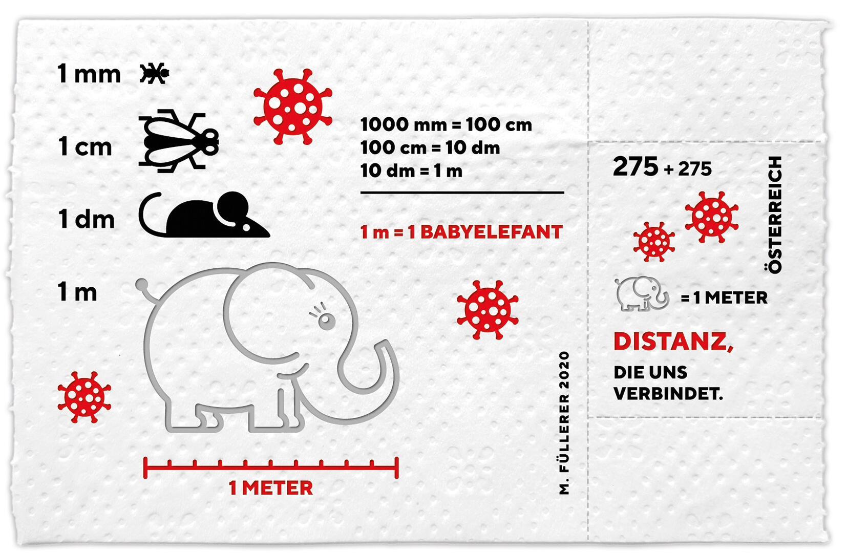 So sieht sie aus Die Corona Briefmarke der Österreichischen Post