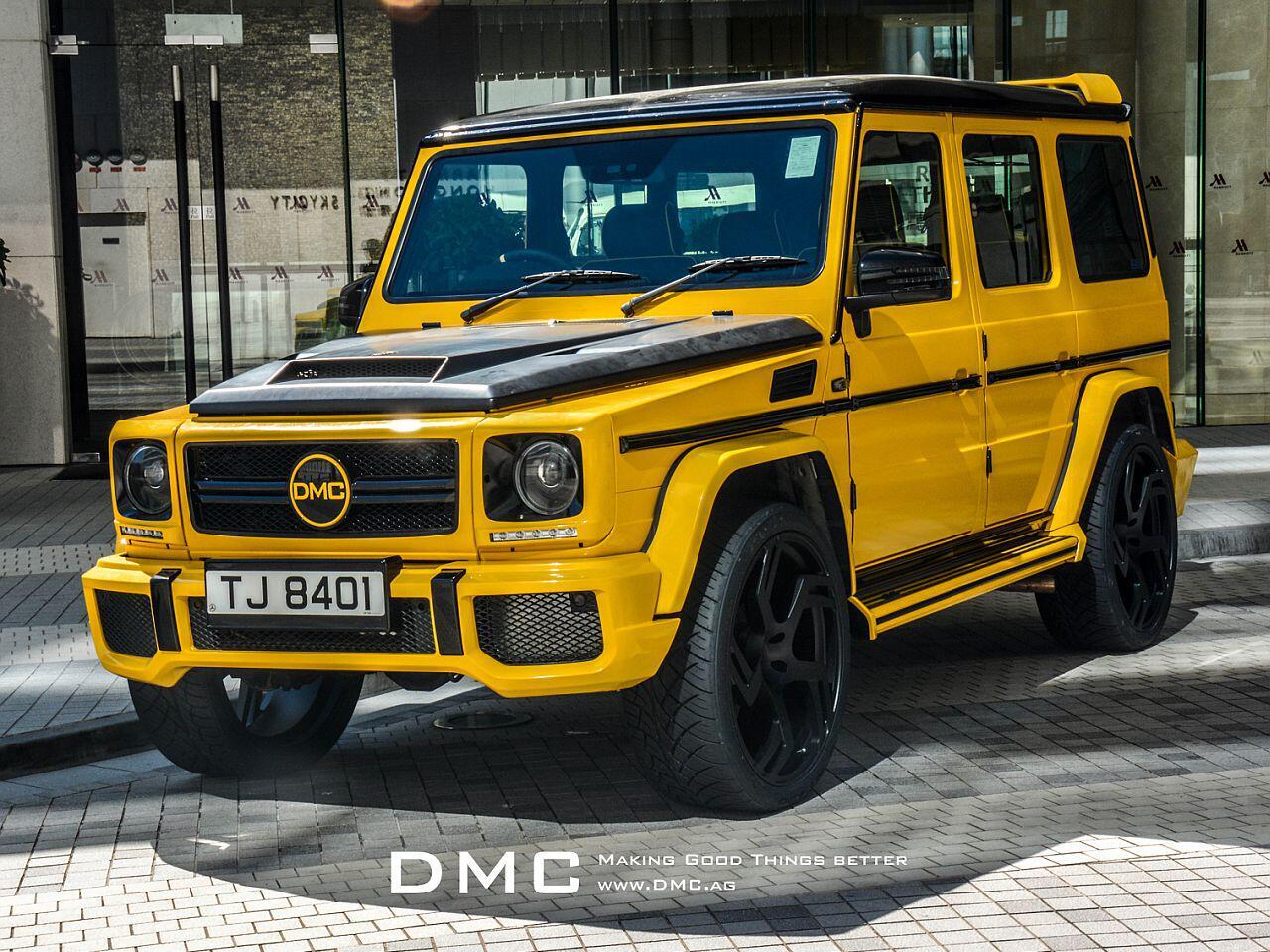 Bild zu Mercedes G-Klasse von DMC