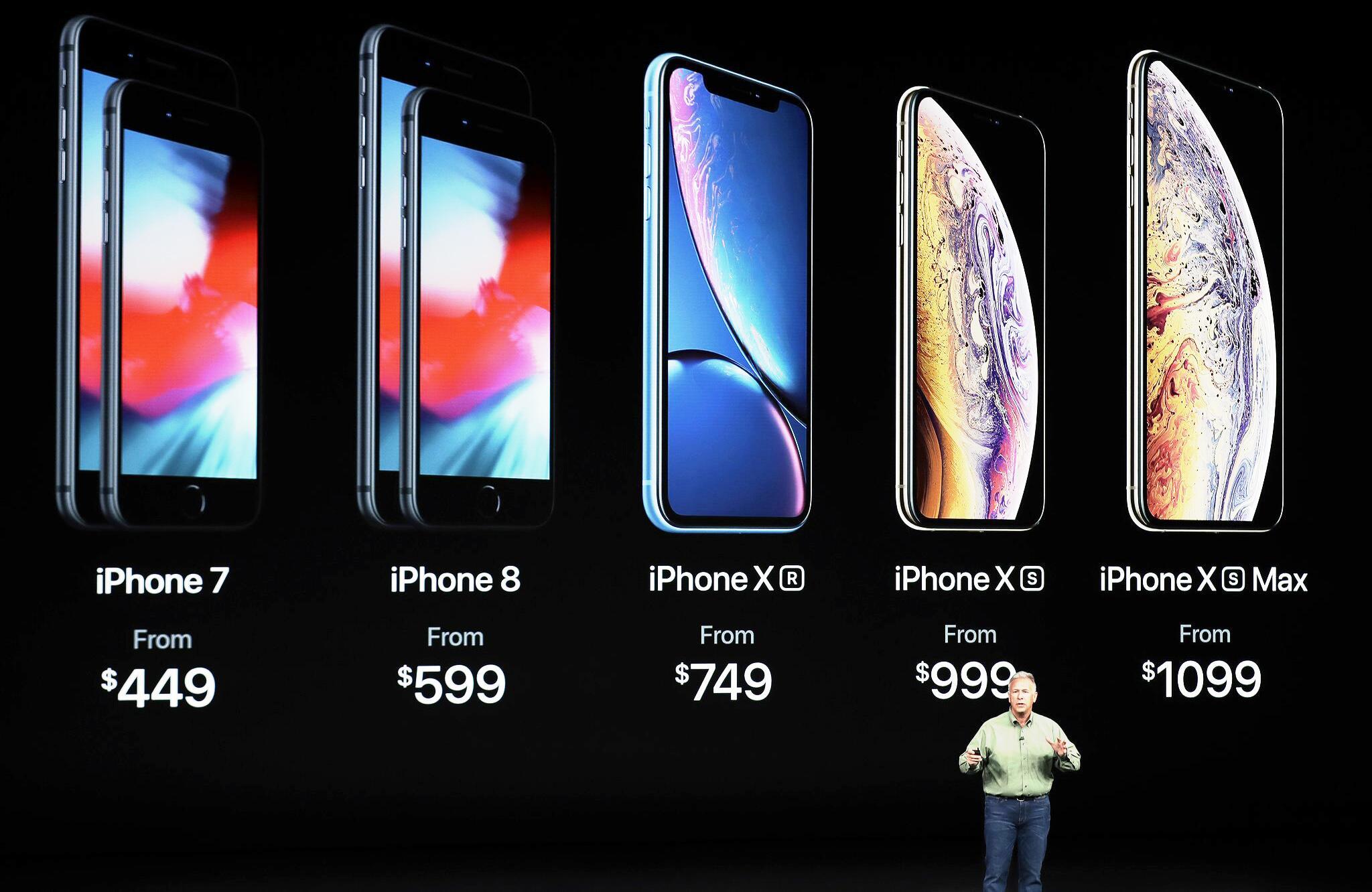 iphone xs apple setzt sich mit neuen iphones an die. Black Bedroom Furniture Sets. Home Design Ideas