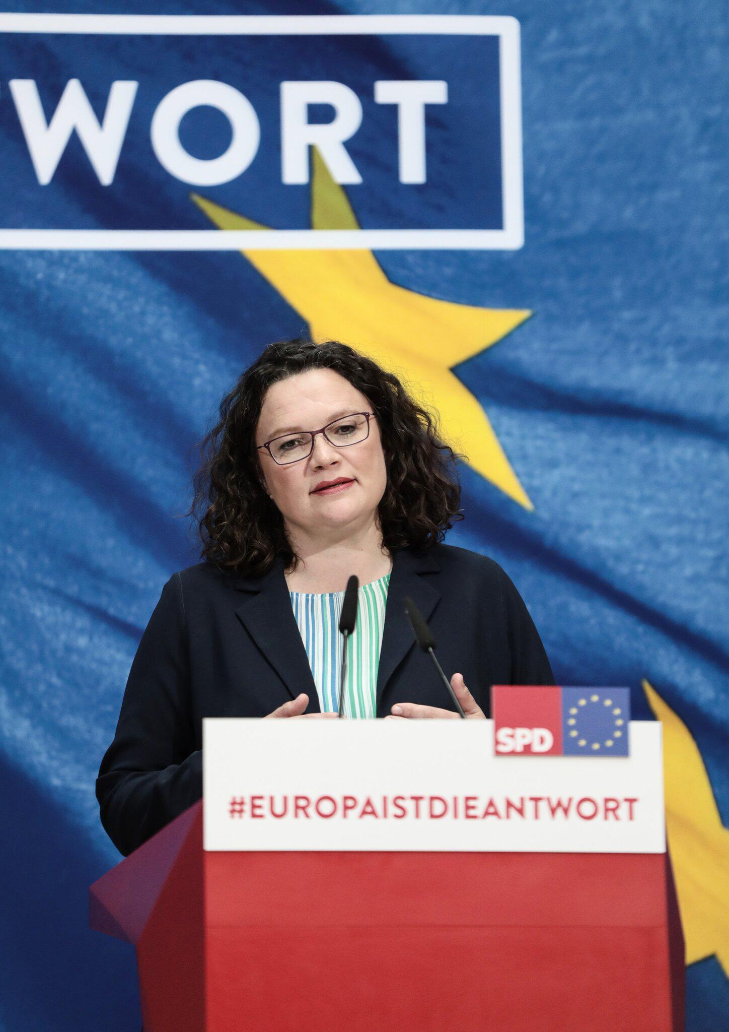 Bild zu European elections - Reactions SPD