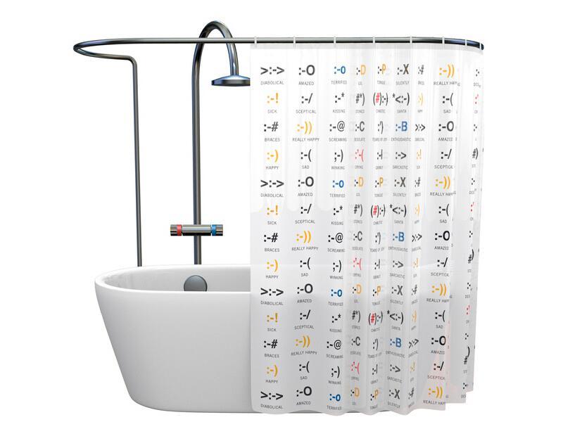 Bild zu Chat-Duschvorhang